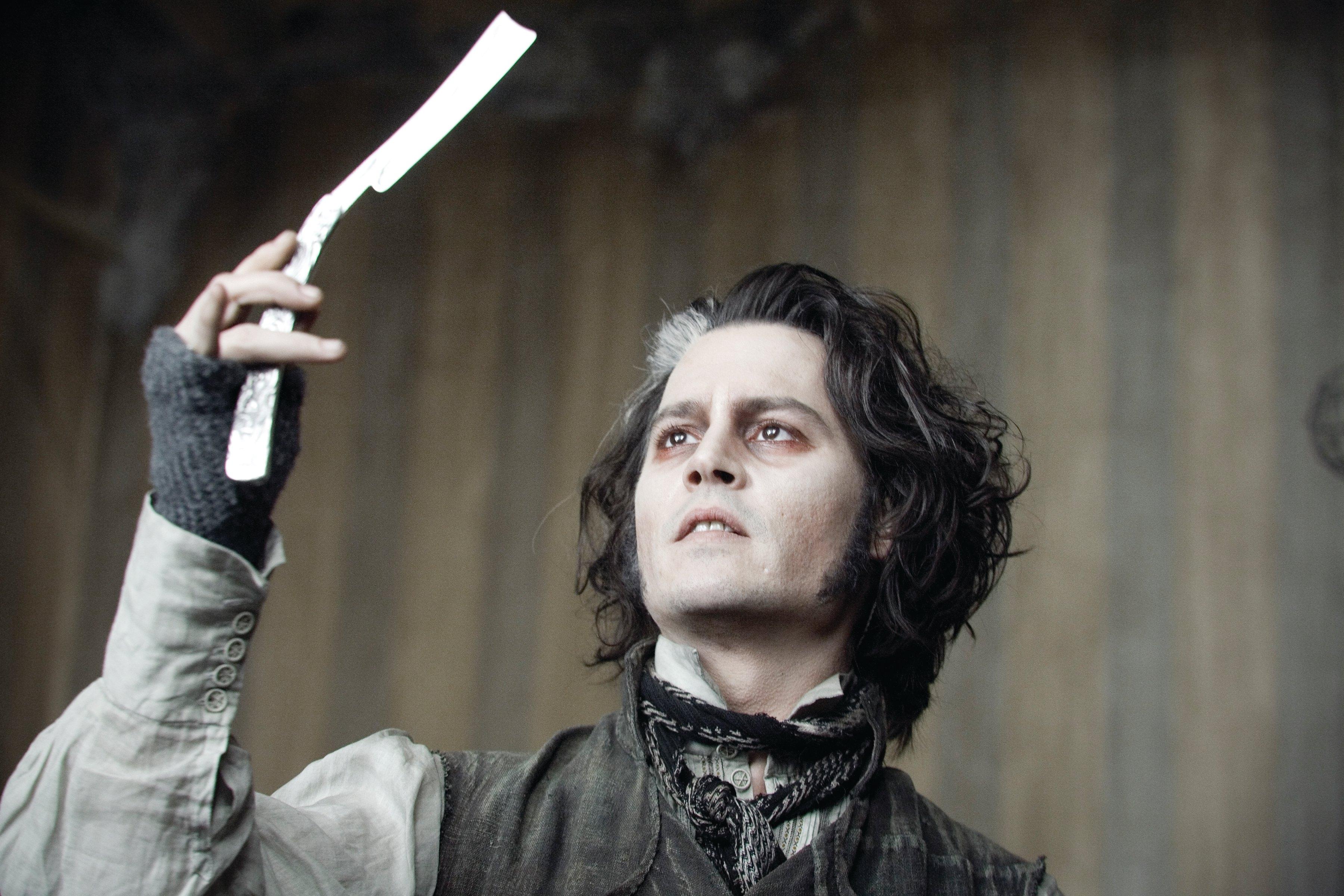 Картинки по запросу Johnny Depp Sweeney Todd