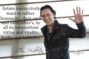Tom Hiddleston: quotes