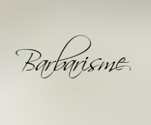 Barbarisme