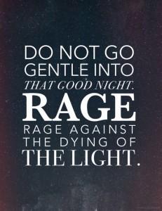 do not go gentle into that good night elitere