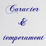 Caracter şi temperament
