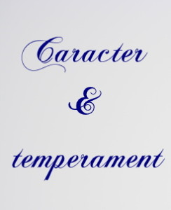 caracter si temperament elitere