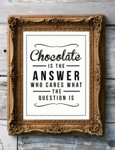 Chocolate Book Tag