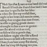 Sonnet 145